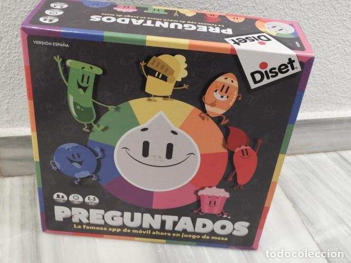 JUEGO DE MESA PREGUNTADOS - DISET - COMPLETO (Juguetes - Juegos - Juegos de Mesa)