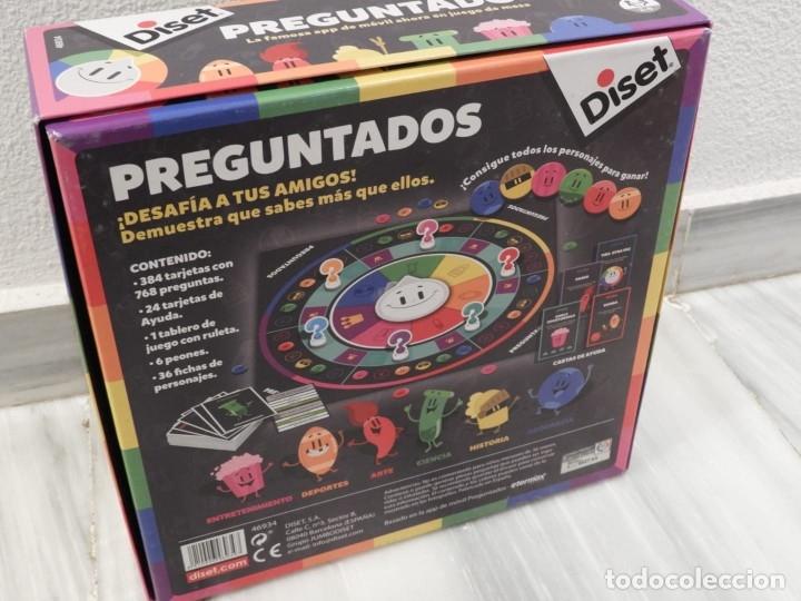 Juegos de mesa: JUEGO DE MESA PREGUNTADOS - DISET - COMPLETO - Foto 2 - 181990086