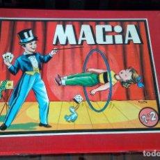 Juegos de mesa: ANTIGUA CAJA JUEGO MAGIA BORRAS COMPLETO. Lote 182090273