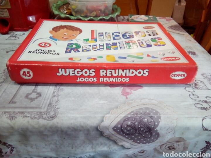 Juegos de mesa: CAJA DE JUEGOS REUNIDOS N°45 - Foto 2 - 182090323