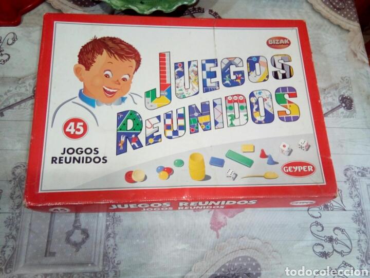CAJA DE JUEGOS REUNIDOS N°45 (Juguetes - Juegos - Juegos de Mesa)