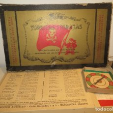 Juegos de mesa: ANTIGUO JUEGO DE TURISTAS Y PIRATAS BUEN ESTADO,BARATO. Lote 182115425