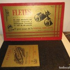 Jeux de table: ANTIGUO JUEGO FLETES BUEN ESTADO,BARATO. Lote 182115588