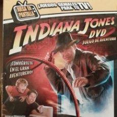 Juegos de mesa: JUEGO DE MESA CON DVD INDIANA JONES PARA LA FAMILIA- NUEVO Y PRECINTADO- DE PARKER. Lote 182275742