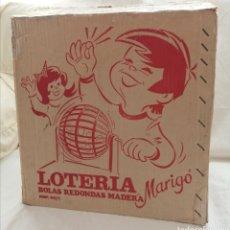 Juegos de mesa: ANTIGUO BINGO LOTERÍA MARIGÓ.. Lote 182299673
