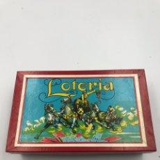 Juegos de mesa: JUEGO LOTERÍA AÑOS 40/50. Lote 182301325