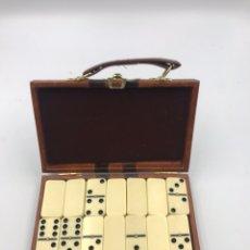 Juegos de mesa: JUEGO DOMINÓ ANTIGUO. Lote 182301606