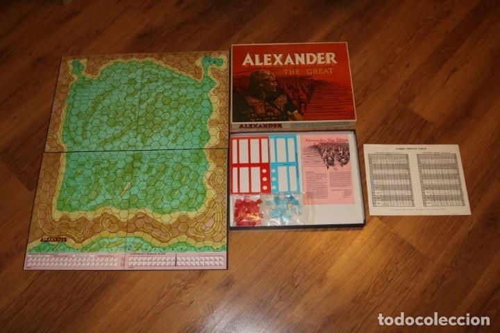 ALEXANDER THE GREAT JUEGO MESA TABLERO AVALON HILL WARGAME ESTRATEGIA GUERRA BATALLA 1974 (Juguetes - Juegos - Juegos de Mesa)