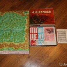 Juegos de mesa: ALEXANDER THE GREAT JUEGO MESA TABLERO AVALON HILL WARGAME ESTRATEGIA GUERRA BATALLA 1974. Lote 182327460