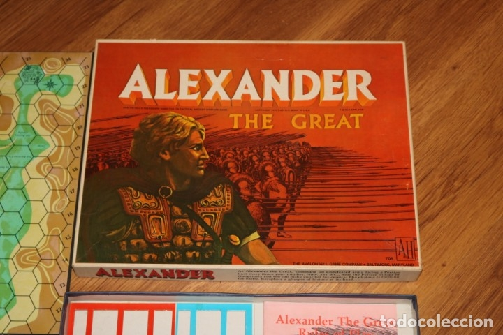 Juegos de mesa: Alexander The Great juego mesa tablero Avalon Hill wargame estrategia guerra batalla 1974 - Foto 2 - 182327460