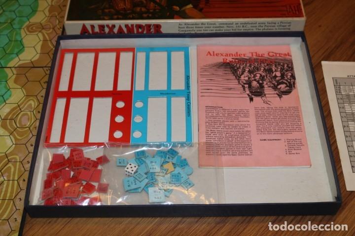 Juegos de mesa: Alexander The Great juego mesa tablero Avalon Hill wargame estrategia guerra batalla 1974 - Foto 3 - 182327460