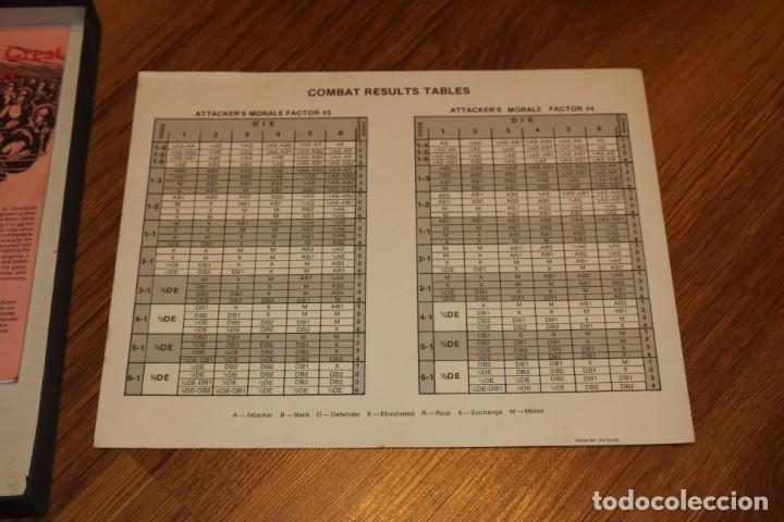 Juegos de mesa: Alexander The Great juego mesa tablero Avalon Hill wargame estrategia guerra batalla 1974 - Foto 4 - 182327460