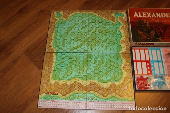 Juegos de mesa: Alexander The Great juego mesa tablero Avalon Hill wargame estrategia guerra batalla 1974 - Foto 5 - 182327460