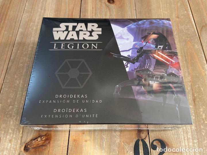 STAR WARS LEGION - LAS GUERRAS CLON - DROIDEKAS - JUEGO MINIATURAS FFG (Juguetes - Juegos - Juegos de Mesa)