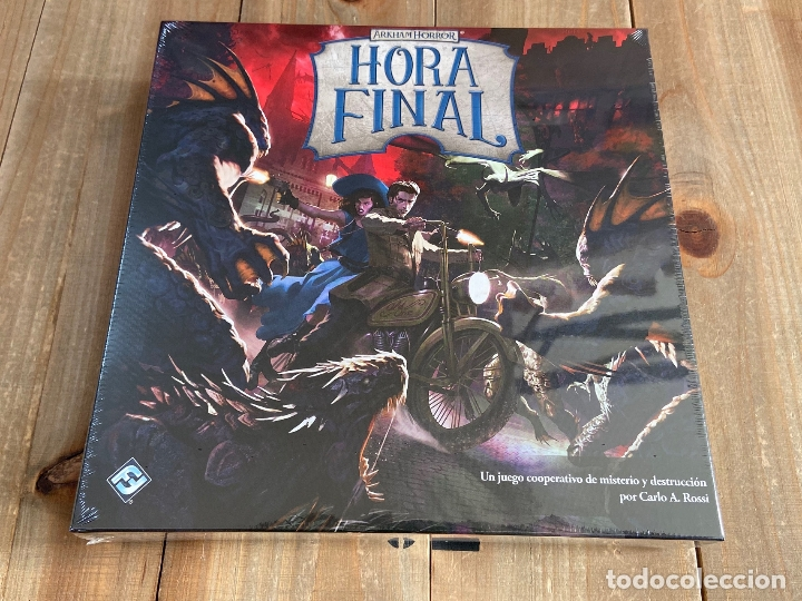 JUEGO DE MESA - HORA FINAL - CAJA BÁSICA - FFG - EDICIÓN ESPAÑOL - ARKHAM HORROR (Juguetes - Juegos - Juegos de Mesa)