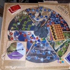 Juegos de mesa: JUEGO DE ROL DESCATALOGADO EL HOBBIT LA DERROTA DEL DRAGON MALIGNO COMPLETO. Lote 182375991