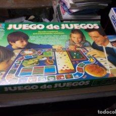Juegos de mesa: JUEGO DE JUEGOS, ACCIÓN CONTINUA... ENTRETENIMIENTO CONTINUO. MB 4130 05, INCOMPLETO 1.986. Lote 182535707