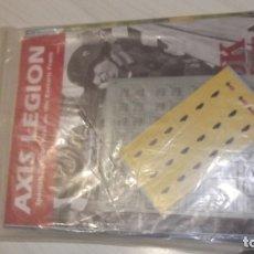 Juegos de mesa: WARGAME AXIS LEGION TOBRUK ASL DIVISION AZUL. Lote 182544621