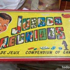 Juegos de mesa: JUEGOS REUNIDOS GEYPER. Lote 182598350