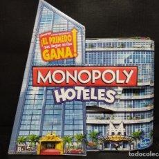 Juegos de mesa: MONOPOLY HOTELES DE HASBRO. Lote 182637302