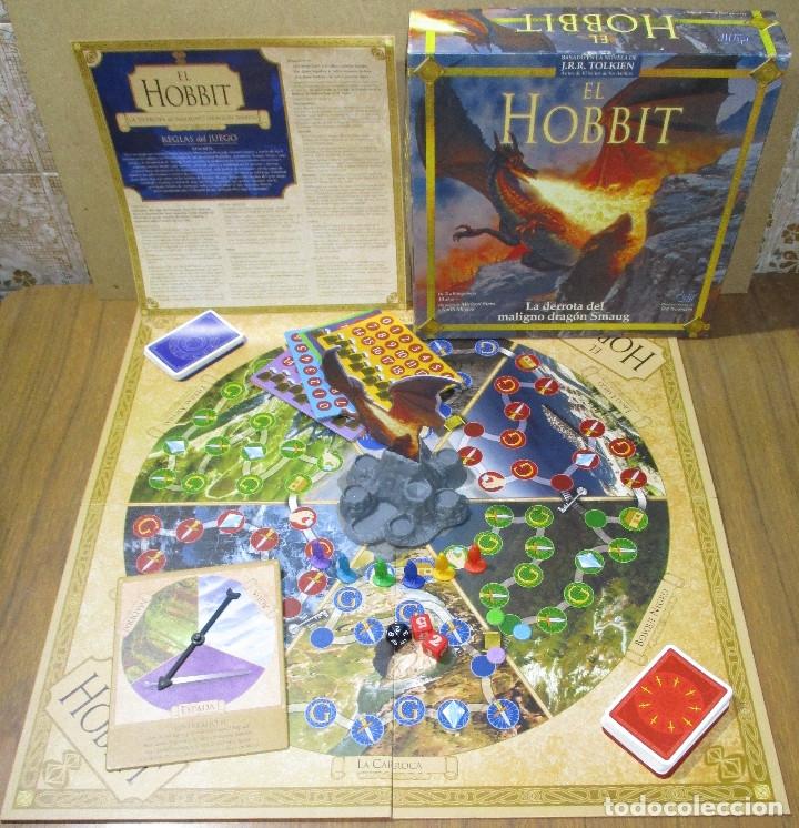 JUEGO DE MESA EL HOBBIT, LA DERROTA DEL MALIGNO DRAGÓN SMAUG (EL SEÑOR DE LOS ANILLOS) - DEVIR 2002 (Juguetes - Juegos - Juegos de Mesa)