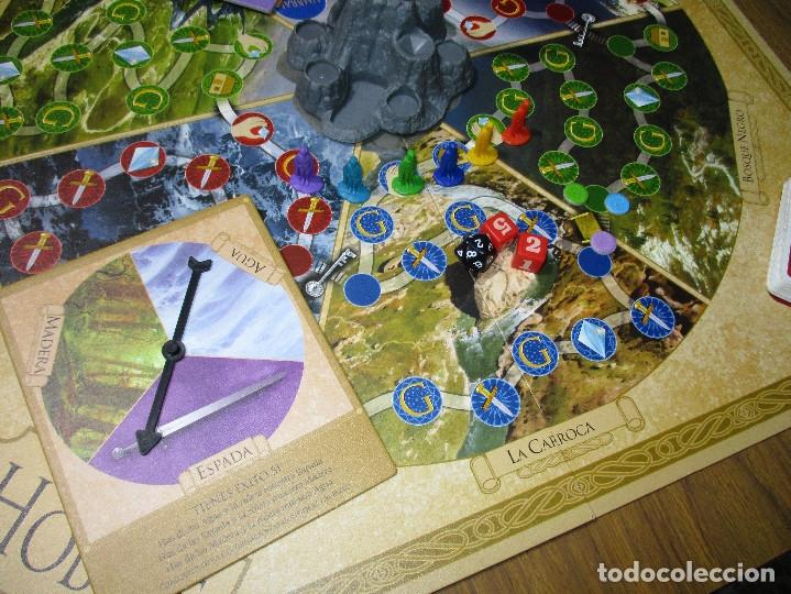 Juegos de mesa: JUEGO DE MESA EL HOBBIT, La derrota del maligno dragón Smaug (EL SEÑOR DE LOS ANILLOS) - DEVIR 2002 - Foto 2 - 182644841
