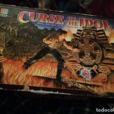 Juegos de mesa: LA MALDICION DEL IDOLO CURSE OF THE IDOL COMPLETO INGLÉS. Lote 182798721