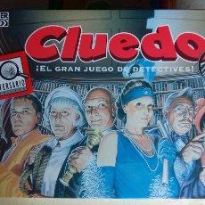 Juegos de mesa: CLUEDO. PARKER 1996.. Lote 182799776