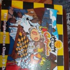 Juegos de mesa: AJEDREZ CHUPA CHUPS COMPLETO. Lote 182831063