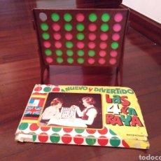 Jogos de mesa: JUEGO DE MESA LAS 4 EN RAYA AÑOS 70/80. Lote 182843328