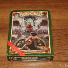 Juegos de mesa: HEROQUEST MB 1989 CAJA RETURN WITCH LORD RETORNO BRUJO JUEGO VINTAGE ESTRATEGIA. Lote 131580858