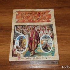 Juegos de mesa: AVALON HILL JUEGO THE REPUBLIC OF ROME NUEVO PRECINTADO SIN USO 1990 VINTAGE POLÍTICA SENADO WARGAME. Lote 182911988