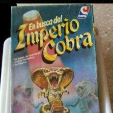 Juegos de mesa: EN BUSCA DEL IMPERIO COBRA COMPLETO CEFA. Lote 182965923