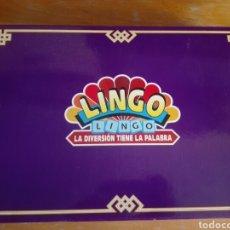 Juegos de mesa: JUEGO MESA LINGO AÑOS 90 POCO USO COMPLETO. Lote 183233556