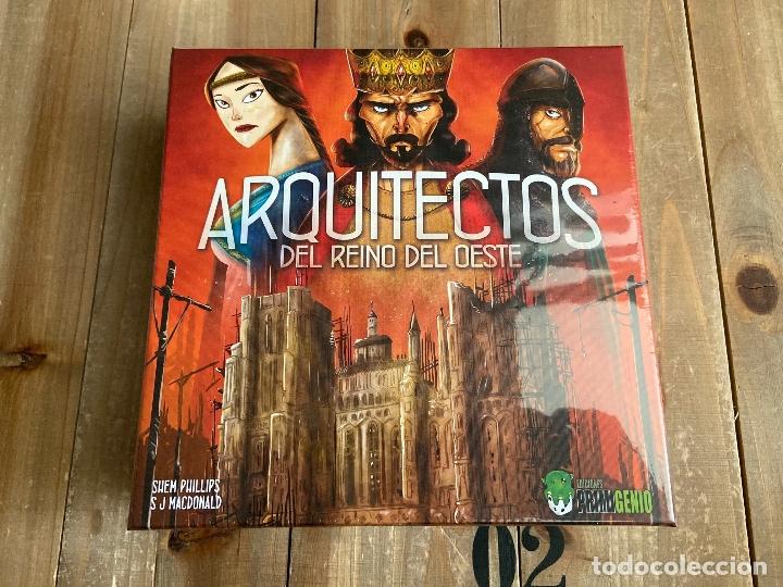 JUEGO DE MESA - ARQUITECTOS DEL REINO DEL OESTE - EDICIONES PRIMIGENIO - PRECINTADO - EUROGAME (Juguetes - Juegos - Juegos de Mesa)