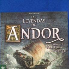 Jeux de table: LAS LEYENDAS DE ANDOR: CAPÍTULO II VIAJE AL NORTE (EXPANSIÓN). Lote 183373011