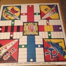 Juegos de mesa: PARCHIS GUERRA CIVIL REPUBLICA - MUY HEROICA CIUDAD DE MADRID 1936-1939 - FACSIMIL EN CARTULINA. Lote 183435993