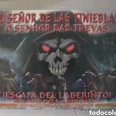 Juegos de mesa: DE LAS TINIEBLAS ) LUCAS SORIANO BELTRAN @ 2002. Lote 183528592