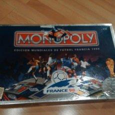 Juegos de mesa: MONOPOLY MUNDIAL FRANCIA 98. Lote 183610043