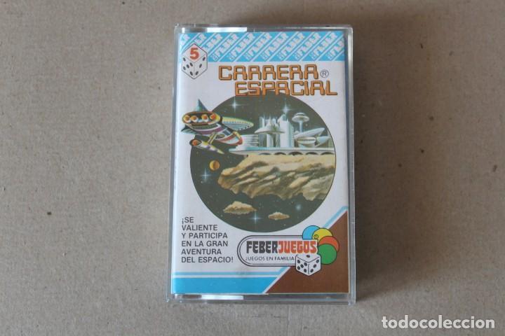 CASSETTE JUEGO MAGNETICO FEBER: CARRERA ESPACIAL. REF 705 - COMPLETO (AÑOS 80) (Juguetes - Juegos - Juegos de Mesa)