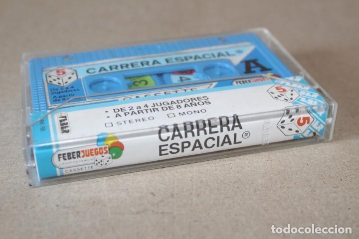 Juegos de mesa: CASSETTE JUEGO MAGNETICO FEBER: CARRERA ESPACIAL. Ref 705 - COMPLETO (Años 80) - Foto 5 - 183697510