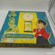 Juegos de mesa: JUEGO MEDIO MILLON - COMPLETO - BORRAS. Lote 183725780