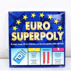 Juegos de mesa: JUEGO DE MESA EURO SUPERPOLY DE FALOMIR. Lote 183783418