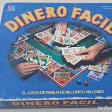 Juegos de mesa: JUEGO DE MESA DINERO FACIL DE MB INCOMPLETO. Lote 183796561