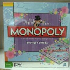 Juegos de mesa: MONOPOLY BOUTIQUE EDITION COLECCIONISTAS. Lote 183852118