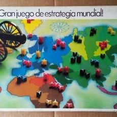 Juegos de mesa: JUEGO DE MESA RISK (PARKER). COMPLETO. 'GRAN JUEGO DE ESTRATEGIA MUNDIAL'.. Lote 183880801