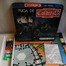 Juegos de mesa: JUEGO MESA FUGA DE COLDITZ FACTOR GAMES COMPLETO. Lote 183895761