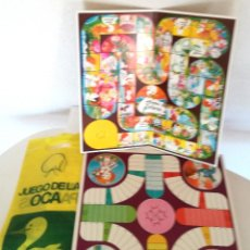 Juegos de mesa: ANTIGUOS JUEGOS OCA Y PARCHÍS CARTÓN OBSEQUIO PERFUMERÍA GAL CON BOLSA PLÁSTICO ORIGINAL AÑOS 60 70. Lote 183990441
