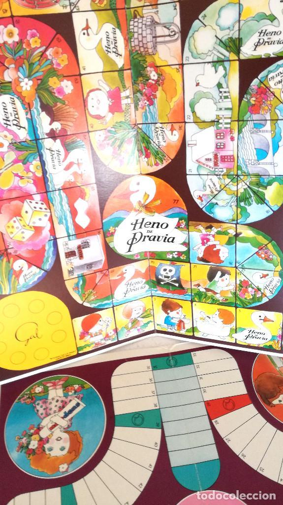 Juegos de mesa: Antiguos juegos Oca y Parchís cartón Obsequio Perfumería Gal con bolsa plástico original años 60 70 - Foto 2 - 183990441