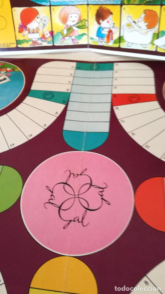 Juegos de mesa: Antiguos juegos Oca y Parchís cartón Obsequio Perfumería Gal con bolsa plástico original años 60 70 - Foto 4 - 183990441